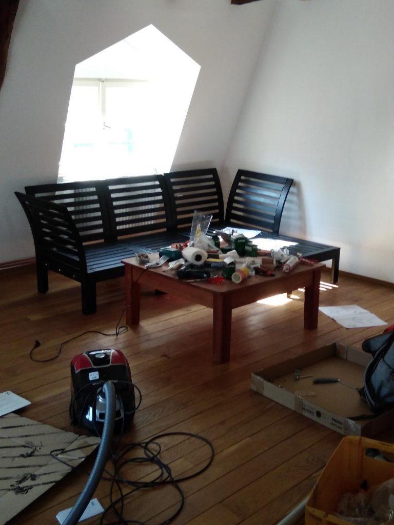 Der kleine Globetrotter, das Wohnzimmer der Suite Helsinki